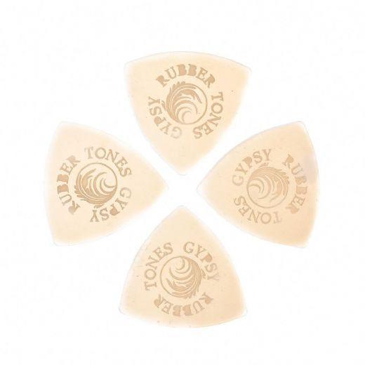 Rubber Tones Gypsy Clear Silicon 4 Picks